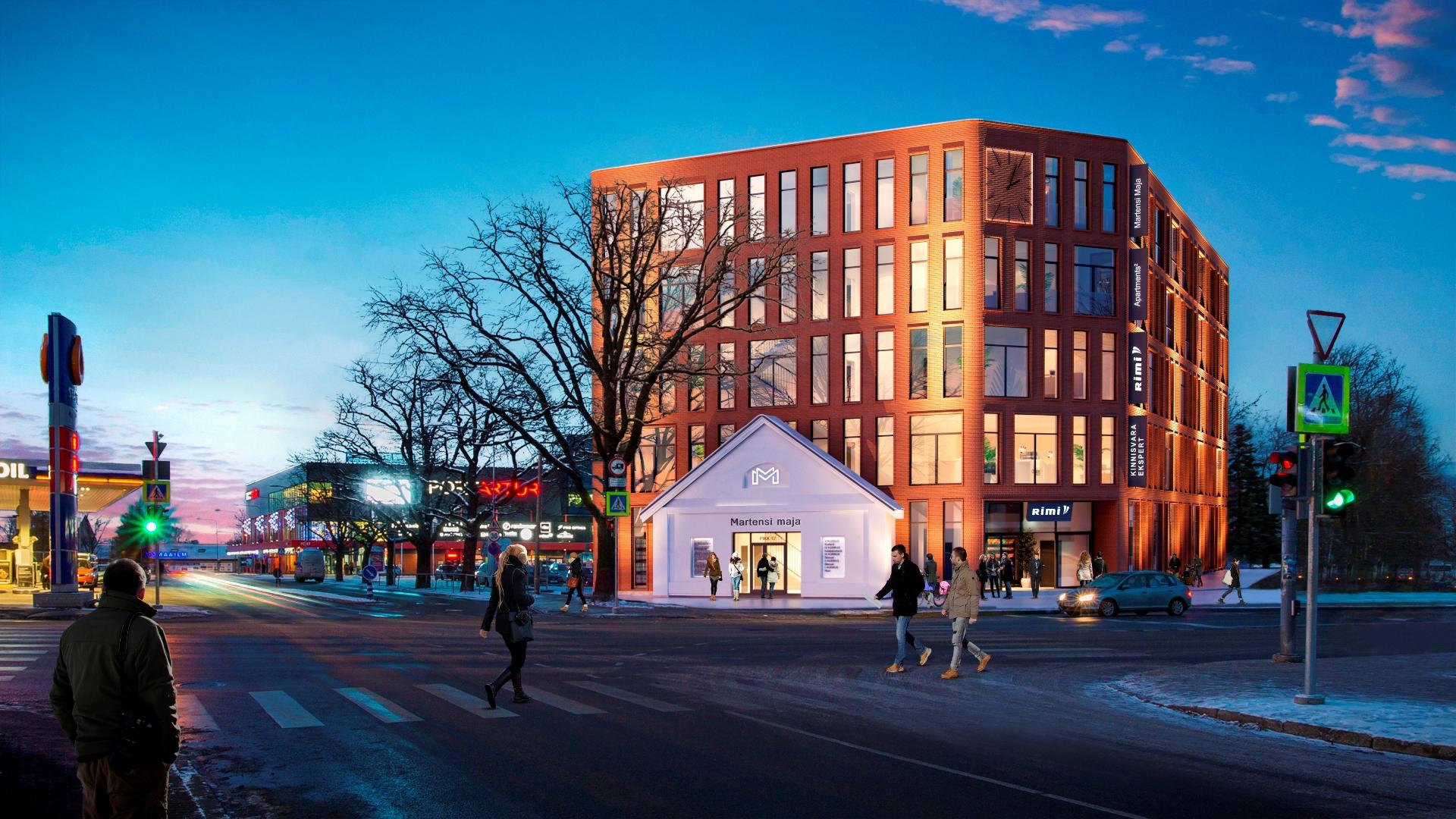 d1bad1afa34 Pärnu südalinnas sai nurgakivi Martensi maja – Adaur.ee: kinnisvaraturg  peopesal