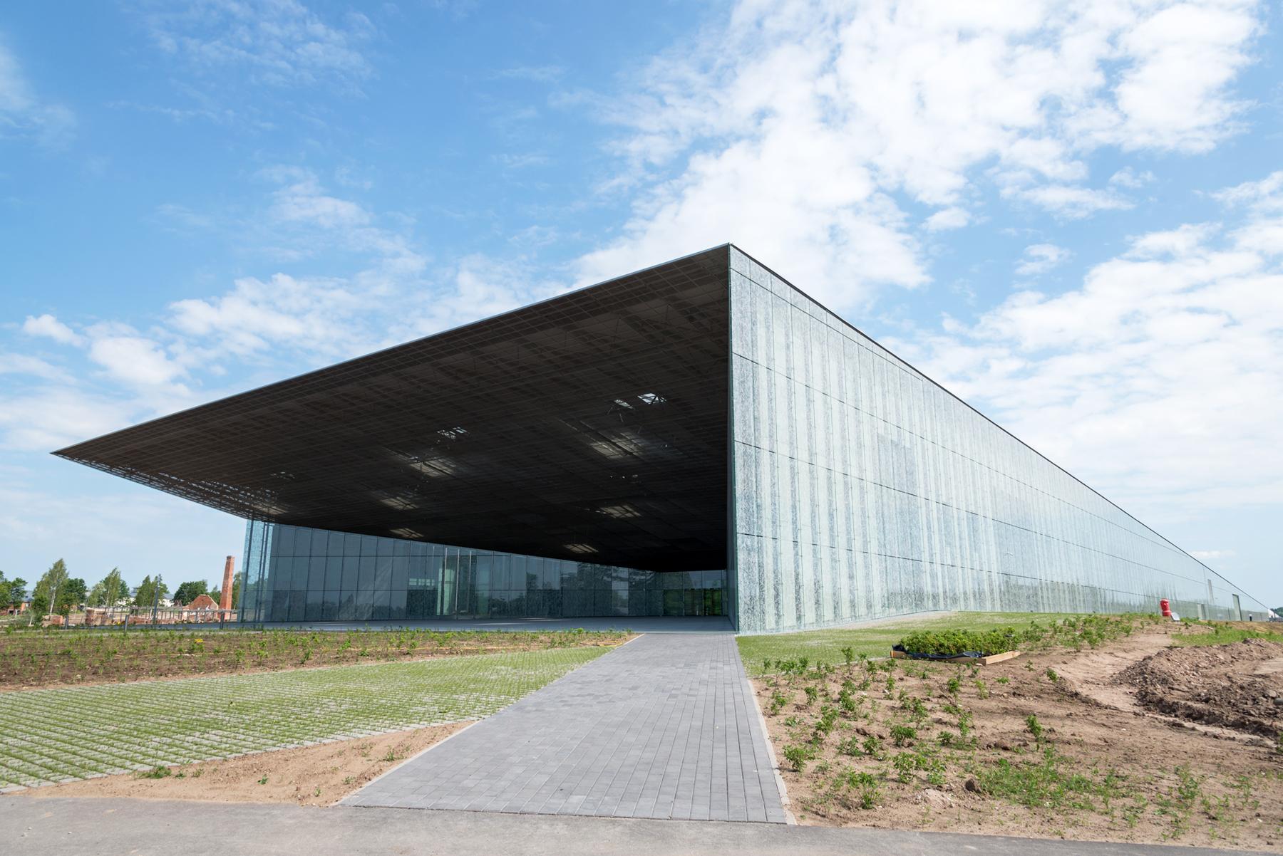 2016. aastal valminud Eesti Rahva Muuseumi uus peahoone