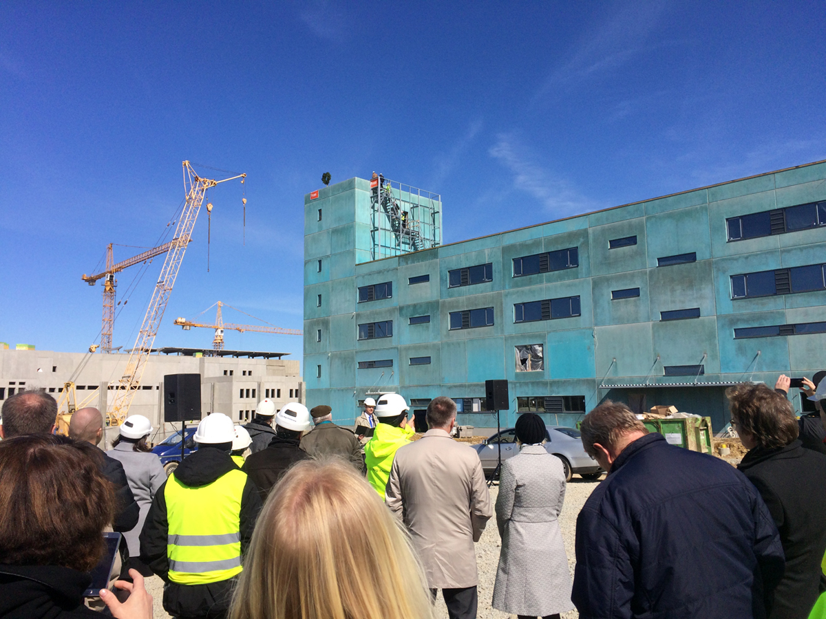 Uue Tallinna vangla ehitus jõudis sarikapeoni