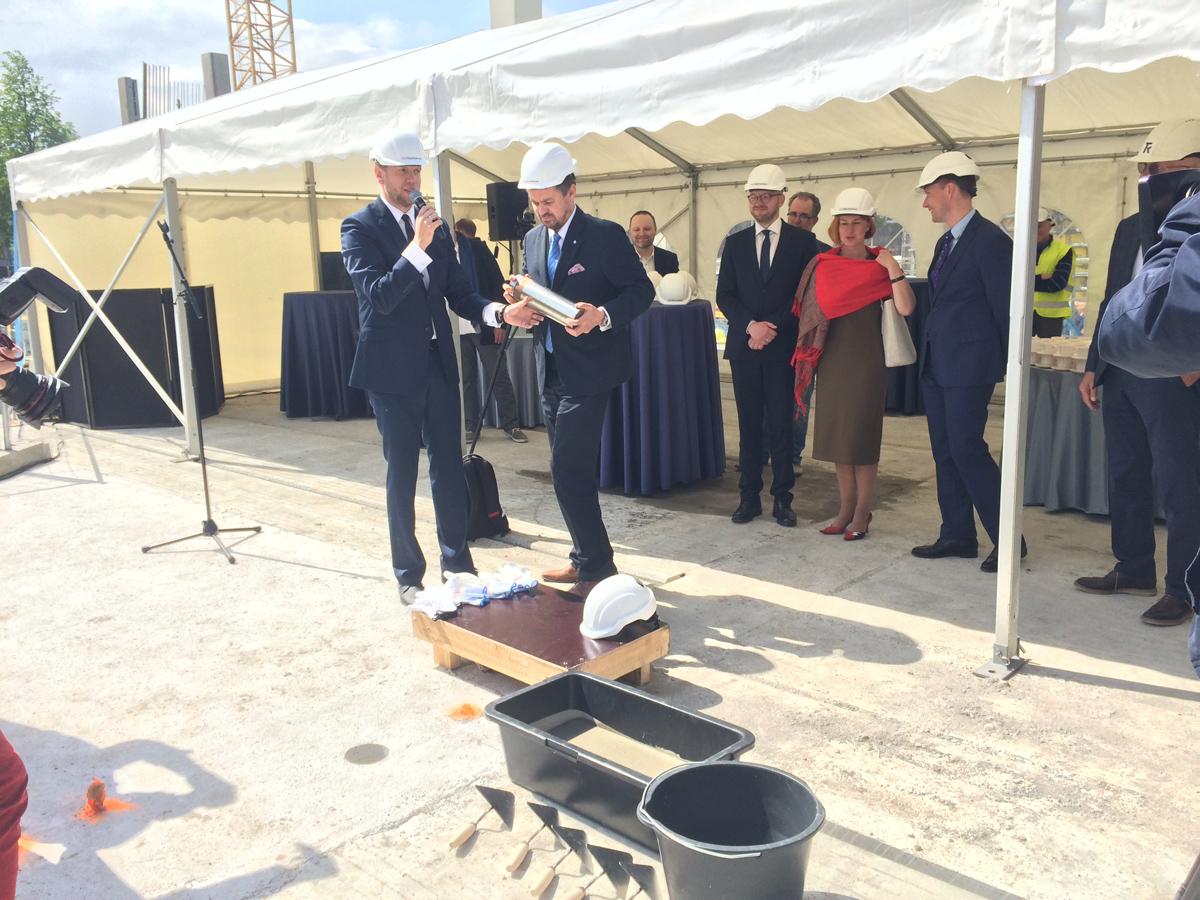 Uus Tallinna kohtumaja sai nurgakivi (1)