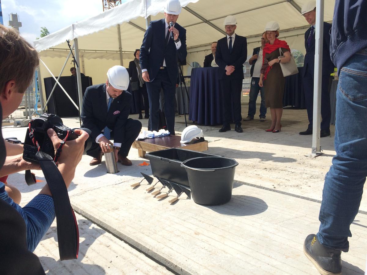 Uus Tallinna kohtumaja sai nurgakivi (2)