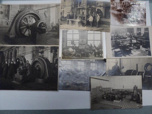 Volta tehase sisevaated arvatavasti 1920. aastatest.