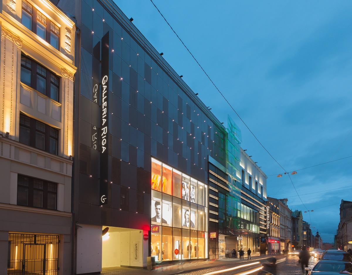 Galleria Riga Dzirnavu tänav