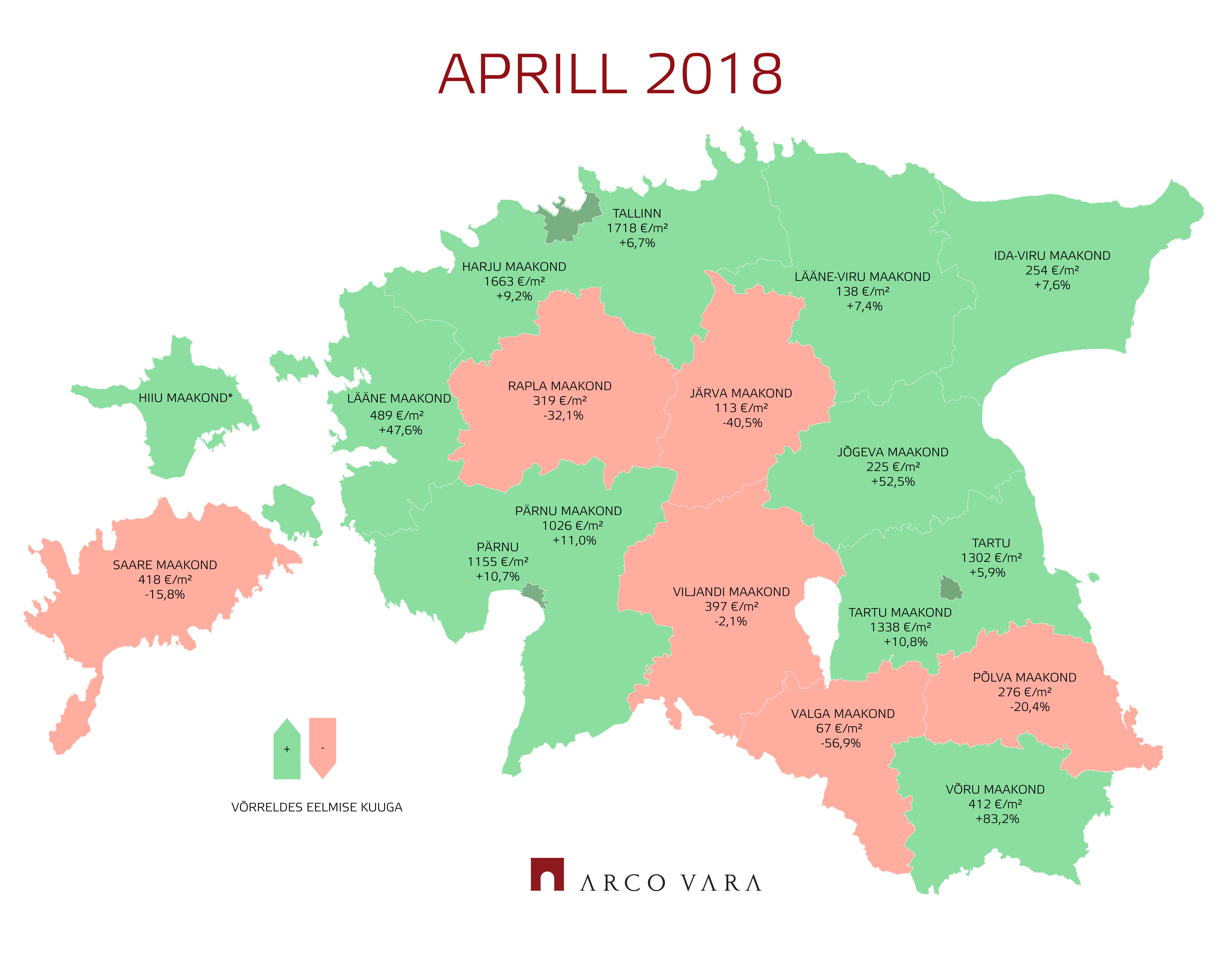 180510 Eesti kinnisvaraturu aprillikuu lühiülevaade 4