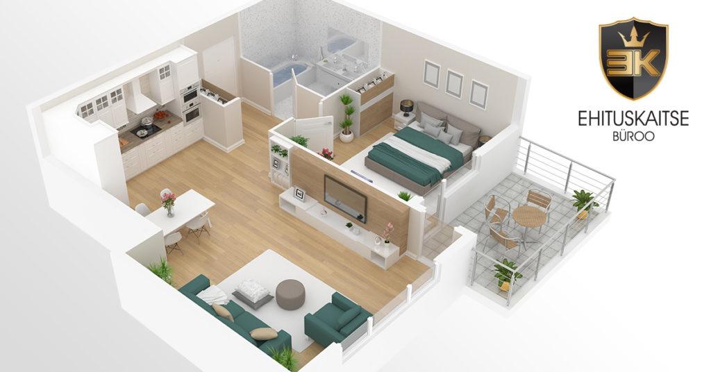 7ea0595adb3 Uue korteri üleandmisel saame kontrollida ka ehitustööde kvaliteeti ja  teostatud tehniliste lahenduste vastavust plaanidele – et koduostja või  investor ...