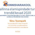 Tallinna elamispindade turu trendid kevad 2020