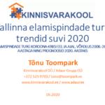 Tallinna elamispindade turu trendid suvi 2020