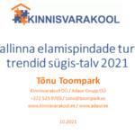 Tallinna elamispindade turu trendid sügis-talv 2021